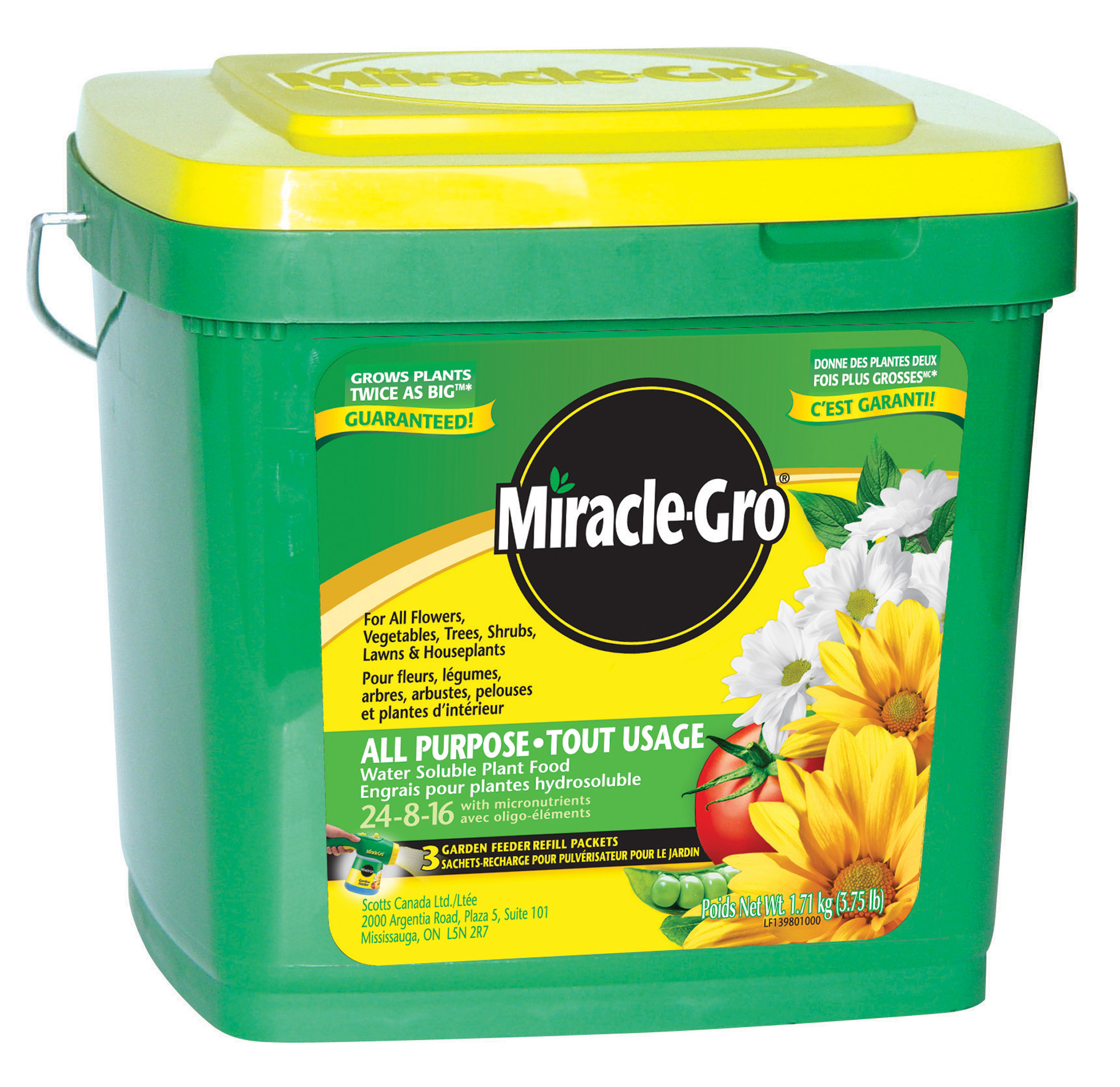 Miracle Gro All Purpose Plant Food Canada