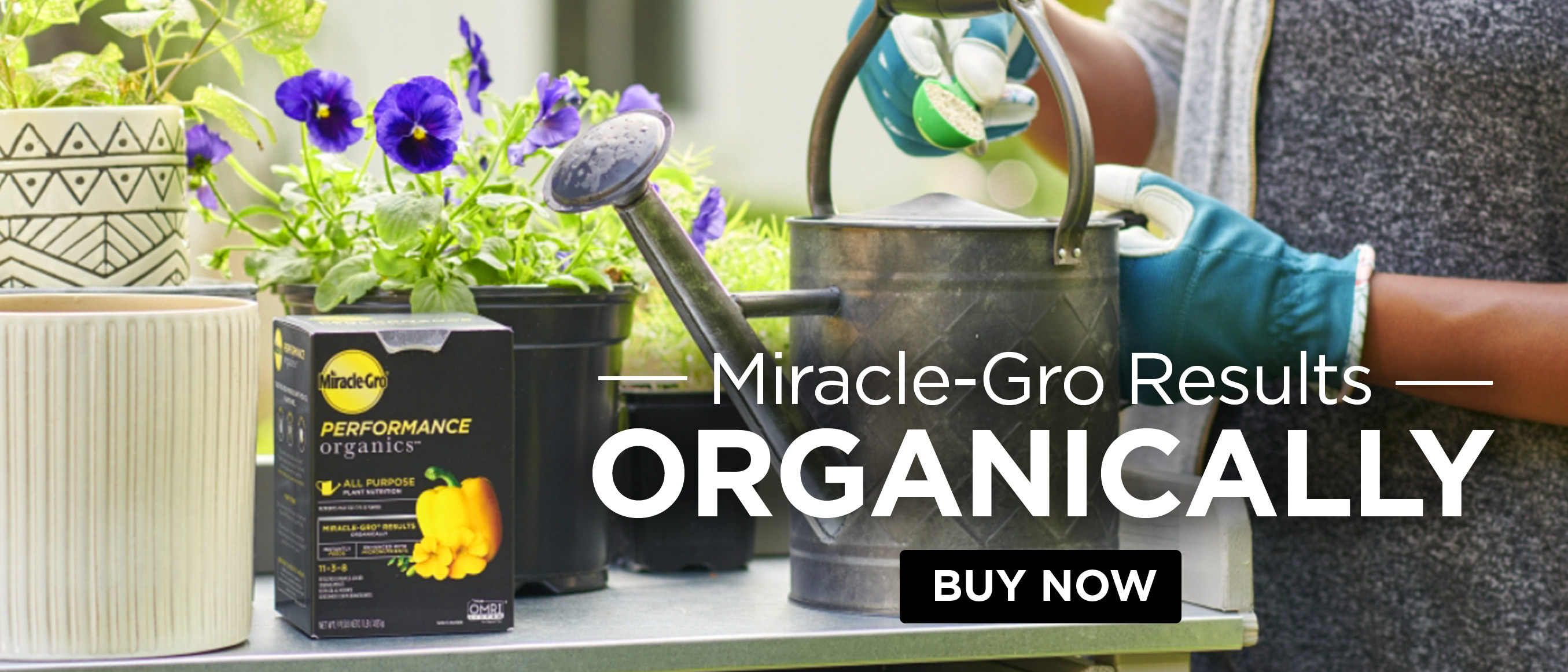 Miracle-Gro Results Organically