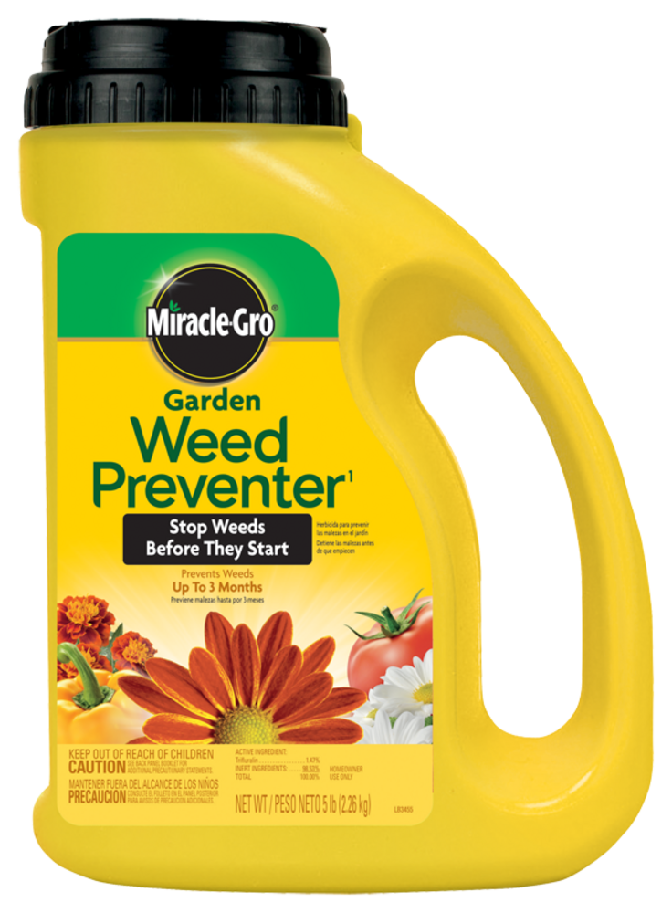 Miracle gro garden weed preventer 1 plant food miracle gro - Miracle gro all purpose garden soil ...