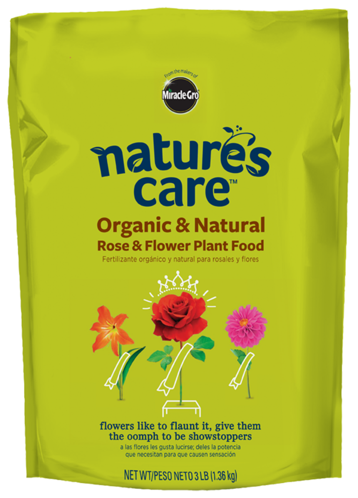 Organic rose flower food nature 39 s care - Miracle gro all purpose garden soil ...
