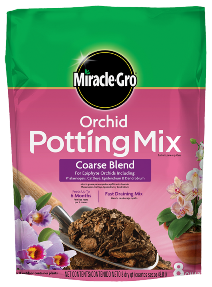 Miracle Gro Orchid Potting Mix Coarse Blend Soils Miracle Gro