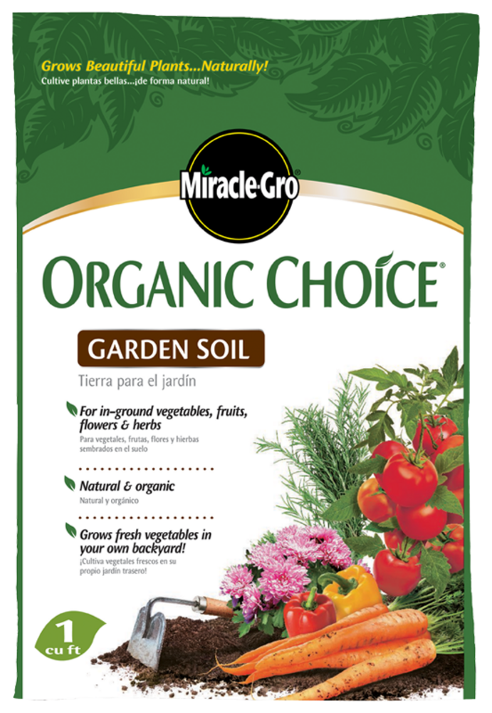Miracle gro organic choice garden soil soils miracle gro for Organic soil uk