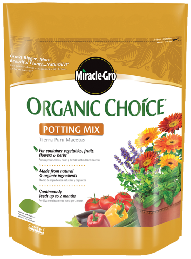 Organic Potting Soil Organic Potting Mix Miracle Gro