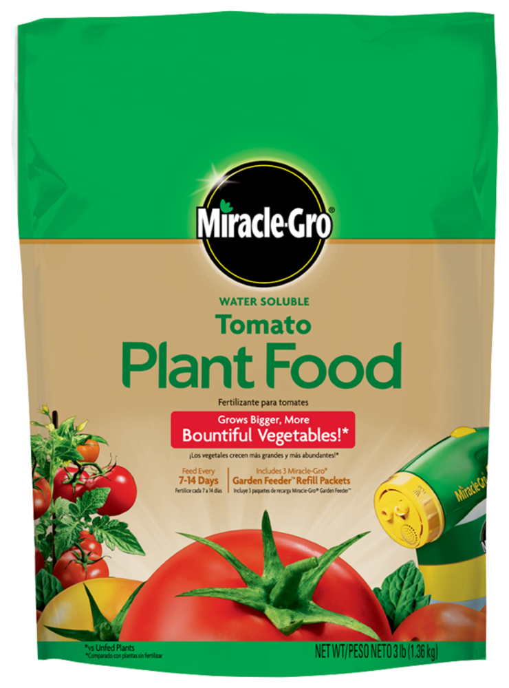 Miracle Gro Water Soluble Tomato Plant Food Fertilizer Miracle Gro
