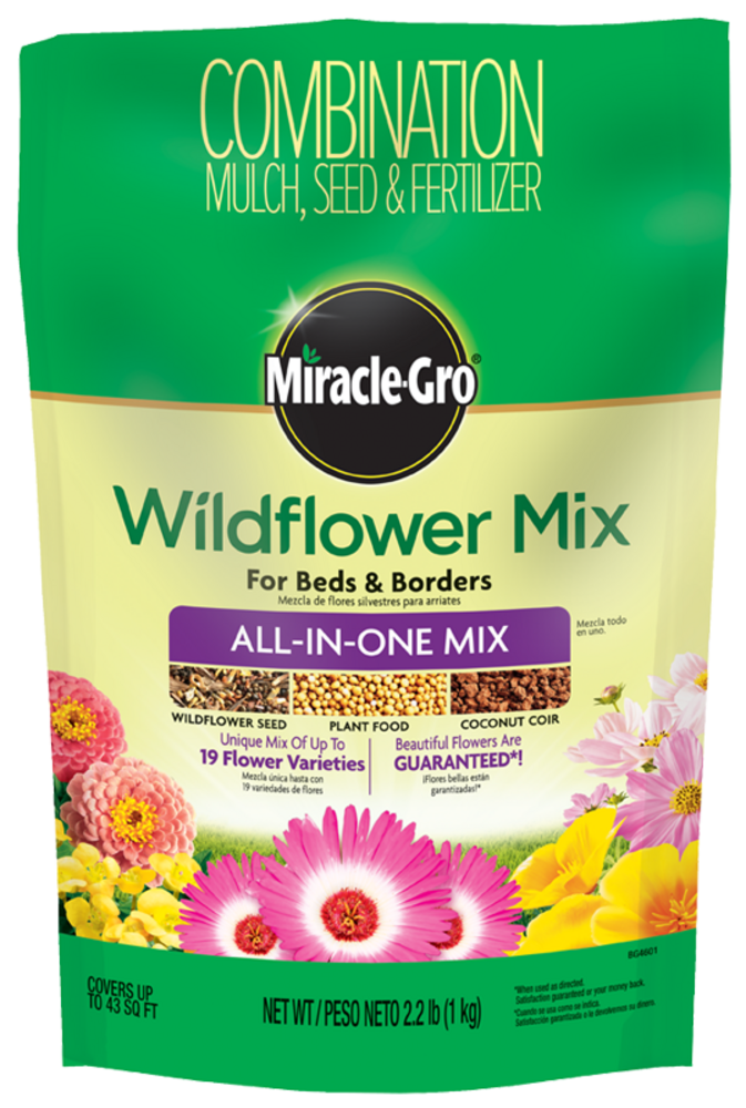 Miracle Gro Wildflower Mix