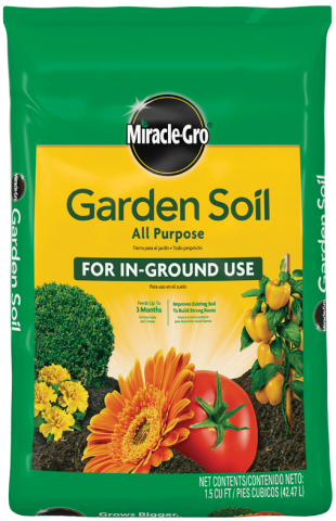Miracle-Gro® All Purpose Garden Soil Front