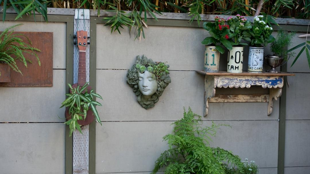 Vertical Gardening Examples On A Wall