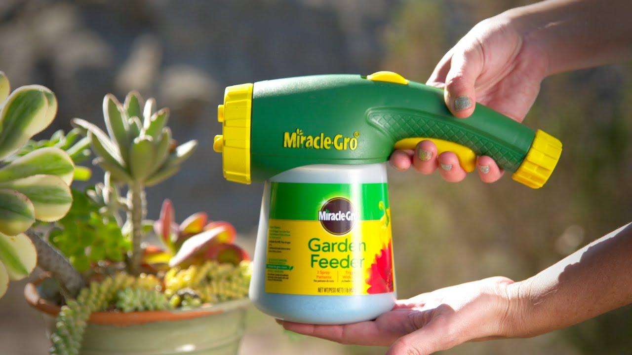 Miracle Gro Garden Feeder Plant Food Miracle Gro