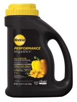 Miracle-Gro® Performance Organics™ All Purpose Plant Nutrition Granules Jug Front