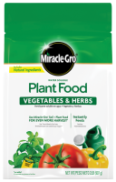 Miracle-Gro Water Soluble Plant Food Vegetables and Herbs