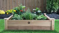 Mediterranean Garden Raised Bed