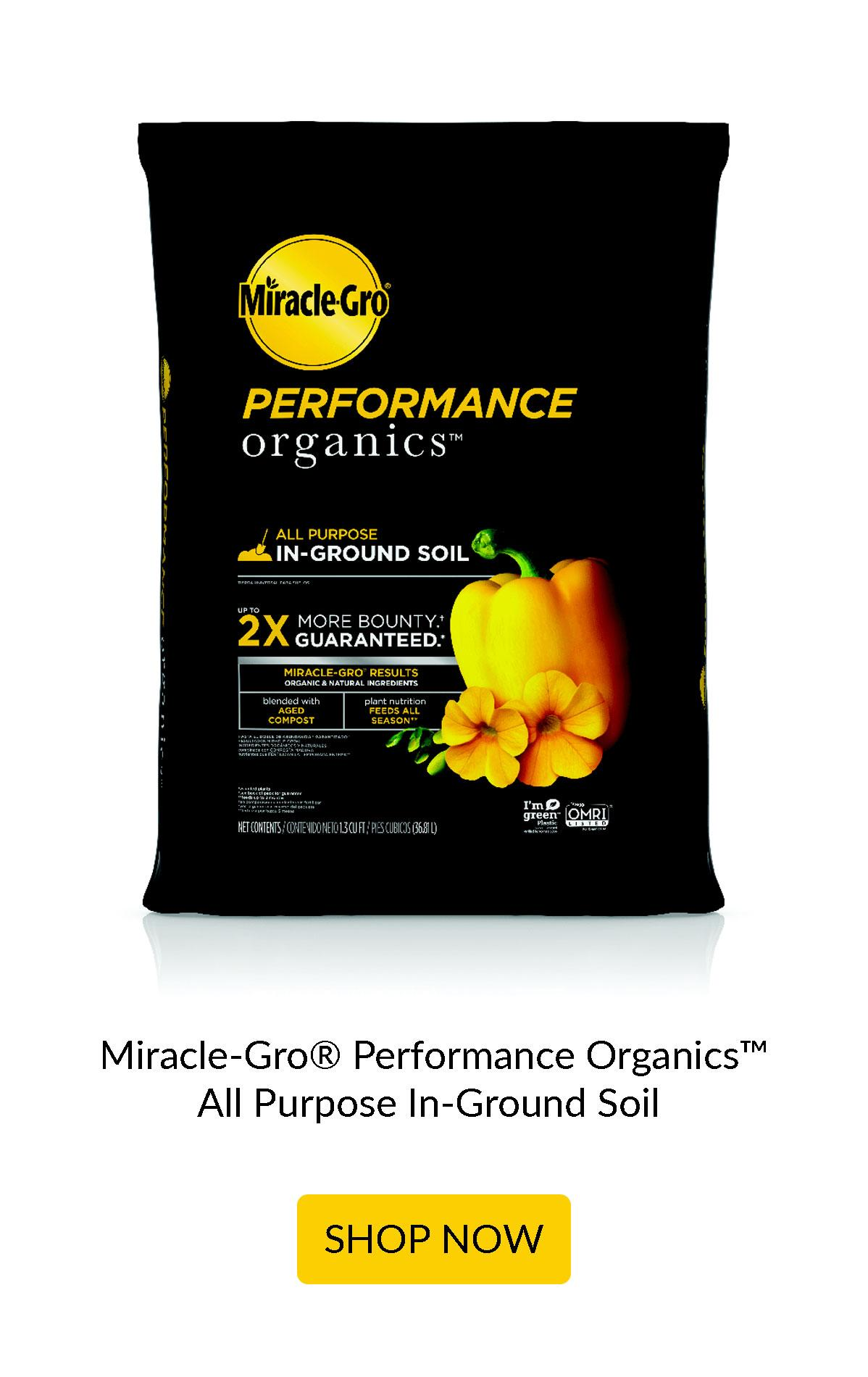 Performance Organics All Purpose In-Ground Soil