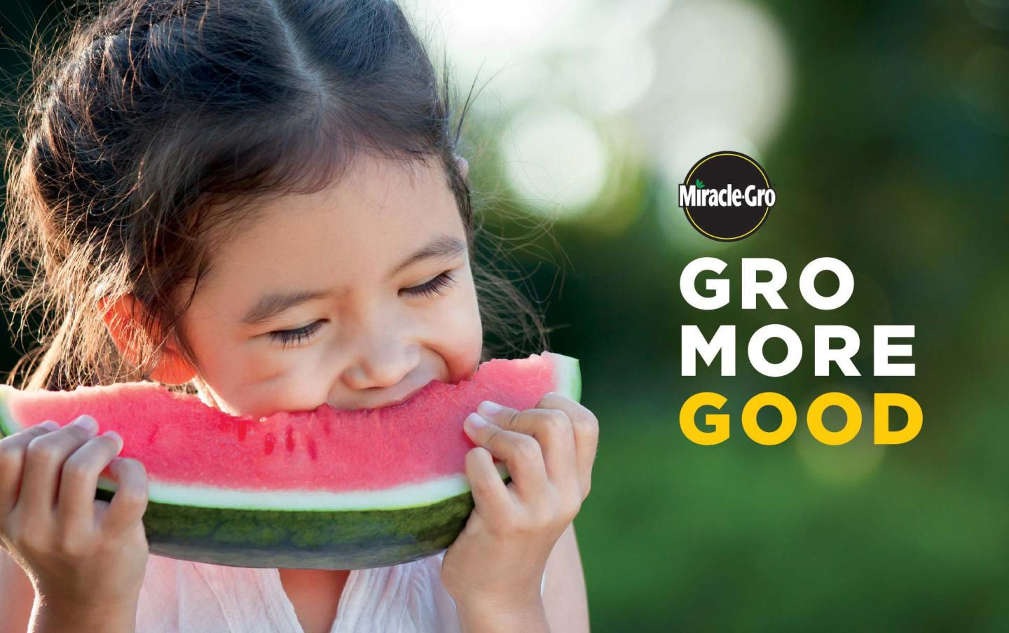 Miracle-Gro Gro More Good