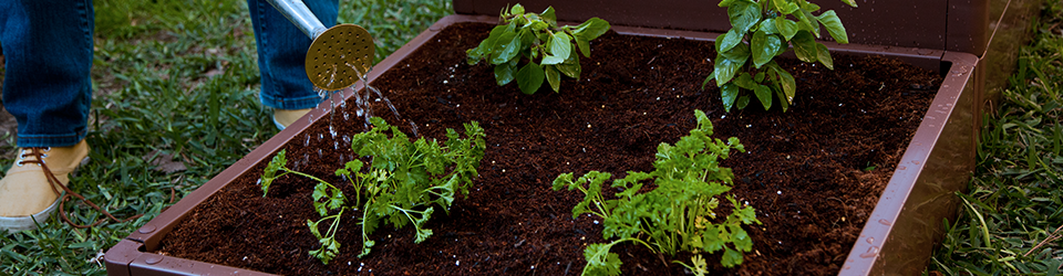 miracle gro raised bed gardening