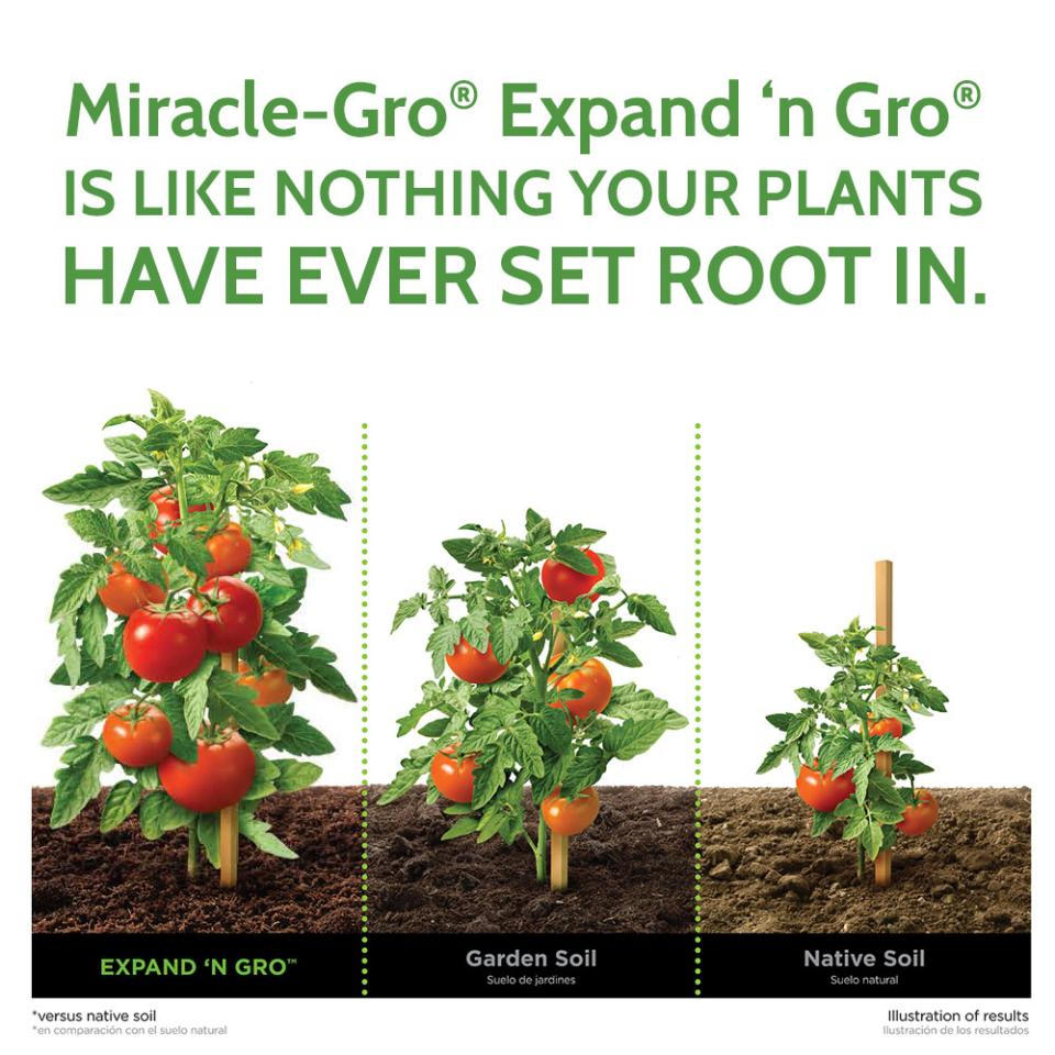 Grow bigger with Expand 'n Gro
