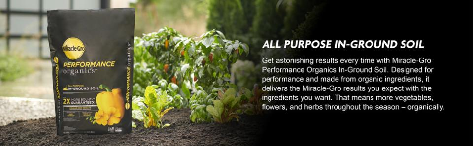 Miracle-Gro® Performance Organics® All Purpose In-Ground Soil