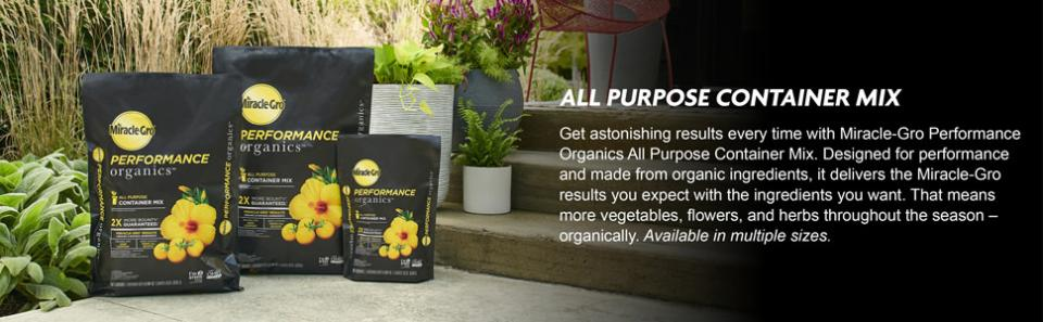 Miracle-Gro® Performance Organics® All Purpose Container Mix