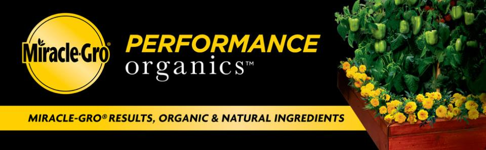 Miracle-Gro® Performance Organics® Raised Bed Plant Nutrition Granules