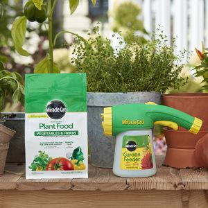 Use With Miracle-Gro Garden Feeder