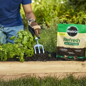 Refresh Soil in raised bed