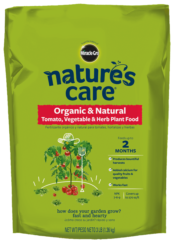 Nature's Care® Organic & Natural Tomato, Vegetable & Herb Plant Food