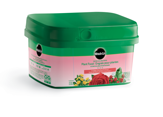 Miracle-Gro Water Soluble Rose Plant Food 18-24-16 500g Bucket