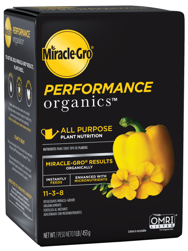 Miracle-Gro® Performance Organics™ All Purpose Plant Nutrition