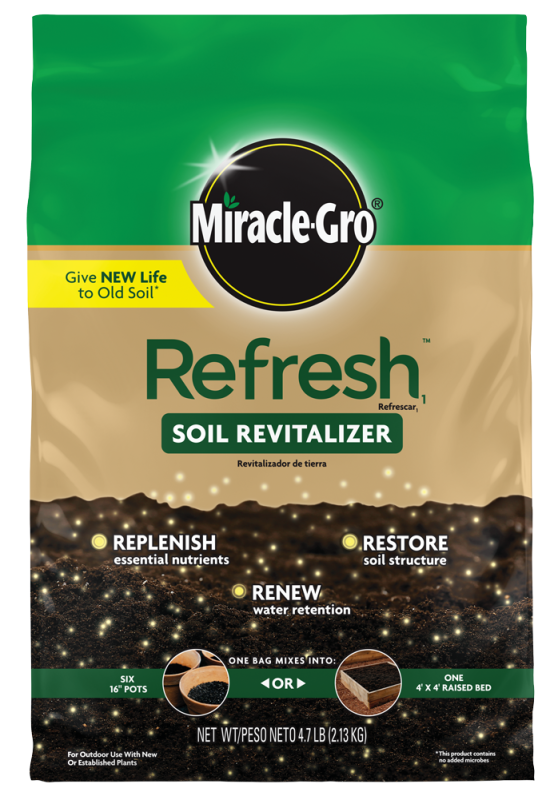 Miracle-Gro® Refresh 1™ Soil Revitalizer