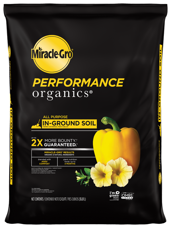 Miracle-Gro® Performance Organics™ All Purpose In-Ground Soil Front
