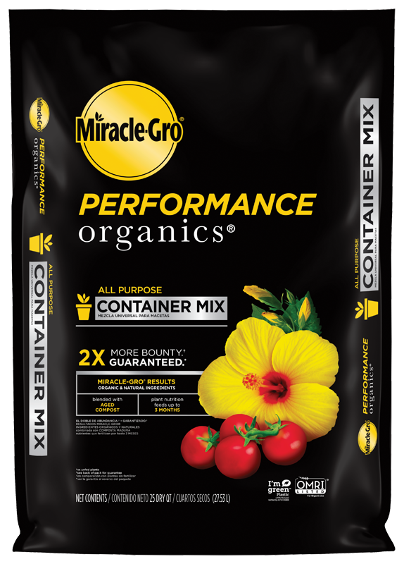 Miracle-Gro® Performance Organics™ All Purpose Container Mix Front