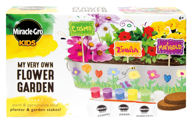 Miracle-Gro® Kids - My Very Own Flower Garden