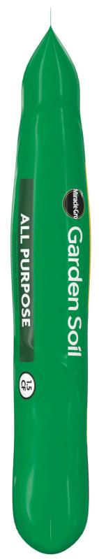 Miracle-Gro® All Purpose Garden Soil Side