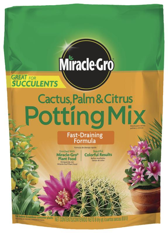 Image of miracle gro catus potting mix