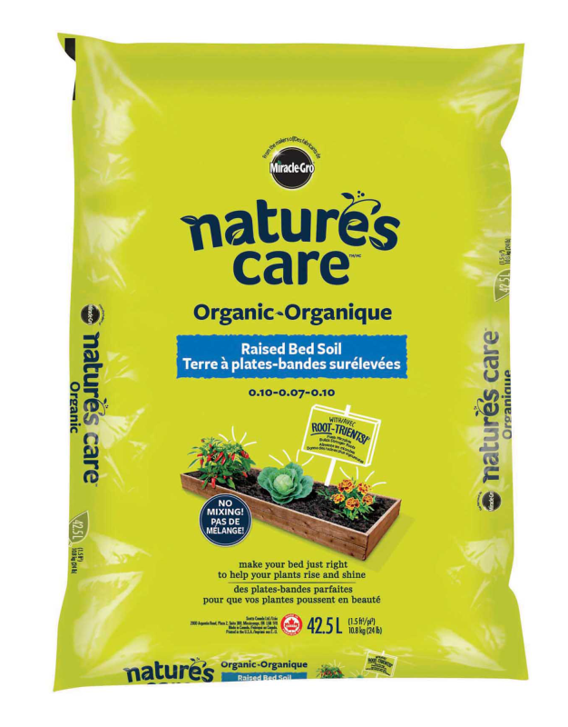 Nature's Care® Organic Raised Bed Soil