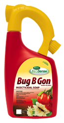 1L bottle of Scotts Ecosense Bug B Gon with hose attachment