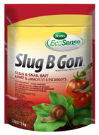 1kg package of Scotts Slug B Gon Slug and Snail Bait