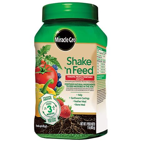 1lb. Shake 'n Feed Plant Food-Veggie