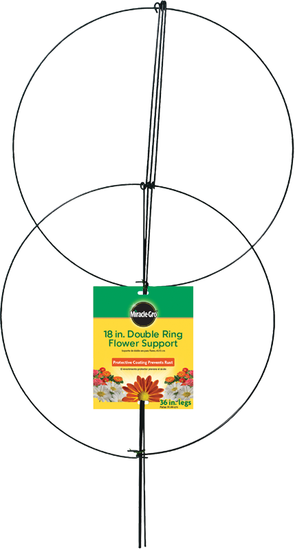 Miracle-Gro® Double-Ring Flower Support