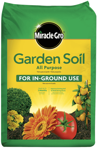 Miracle gro all purpose garden soil soils miracle gro for Uses of soil in english