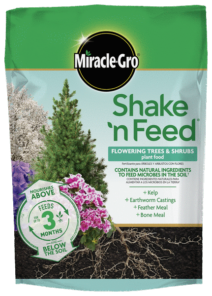 Feed Flowering Trees and Shrubs