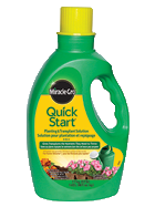 miracle gro quick start plant food canada