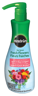 miracle gro for fresh cut flowers canada