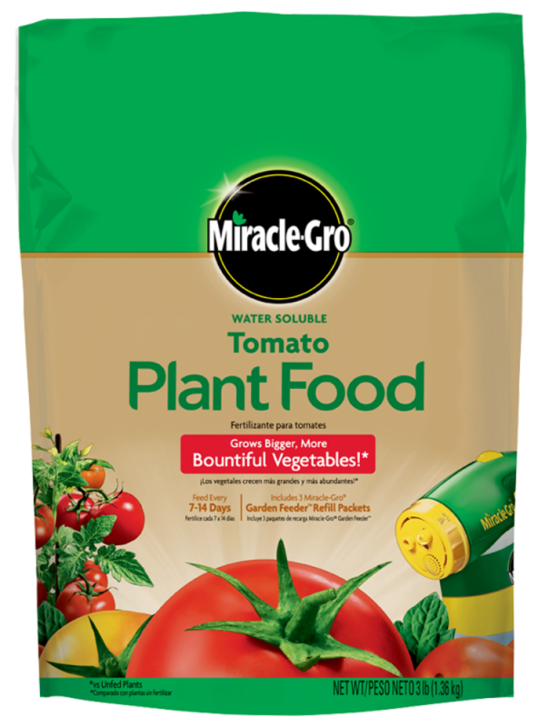 Miracle Gro Water Soluble Tomato Plant Food Amp Fertilizer