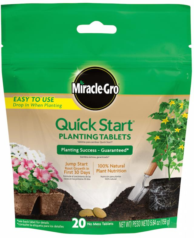 MGRO Quick Start Planting Tabs