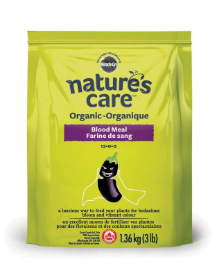 Nature's Care® Organic Blood Meal 12-0-0