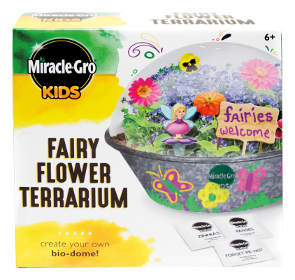 Miracle-Gro® Kids Fairy Flower Terrarium