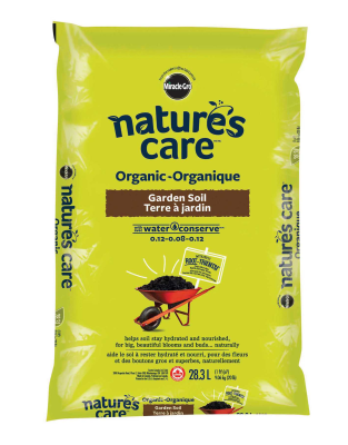 Nature's Care® Organic Garden Soil with Water Conserve TM 0.12-0.08-0.12