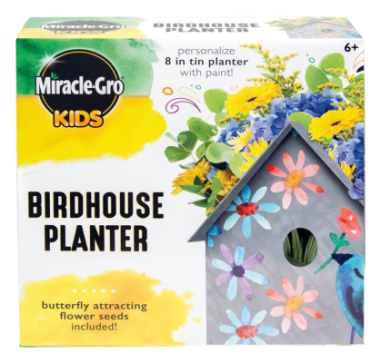 Miracle-Gro® Kids Birdhouse Planter