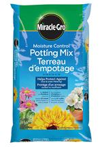 Miracle-Gro® Moisture Control® Potting Mix 0.18-0.10-0.10