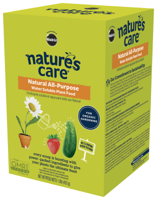 Nature's Care® Natural All-Purpose Water Soluble Plant Food